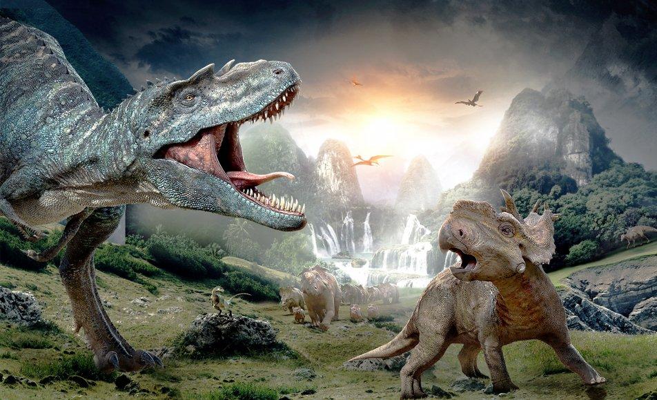 المشي مع الديناصورات