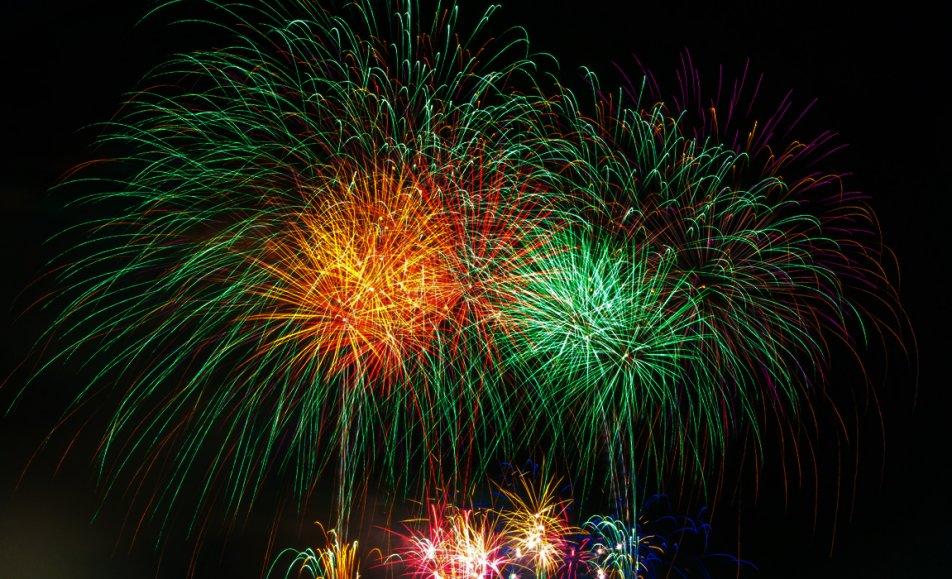 احتفالات الالعاب النارية