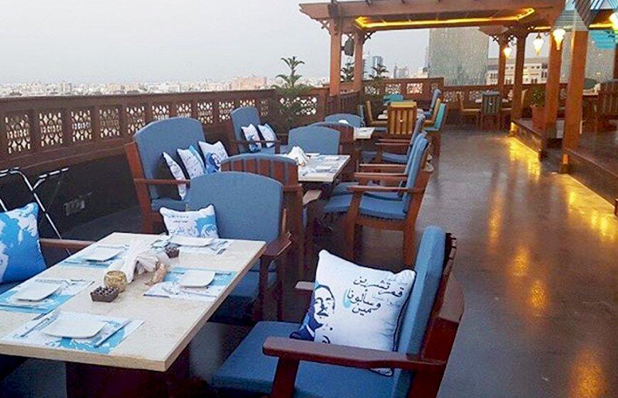 مطعم قمرية Jeddah Night جدة نايت