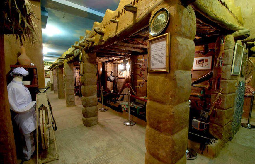 سوق ومتحف الطيبات فى جدة